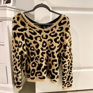 VICI leopard sweater